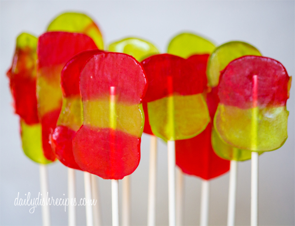 Jolly Rancher Christmas Lollipops