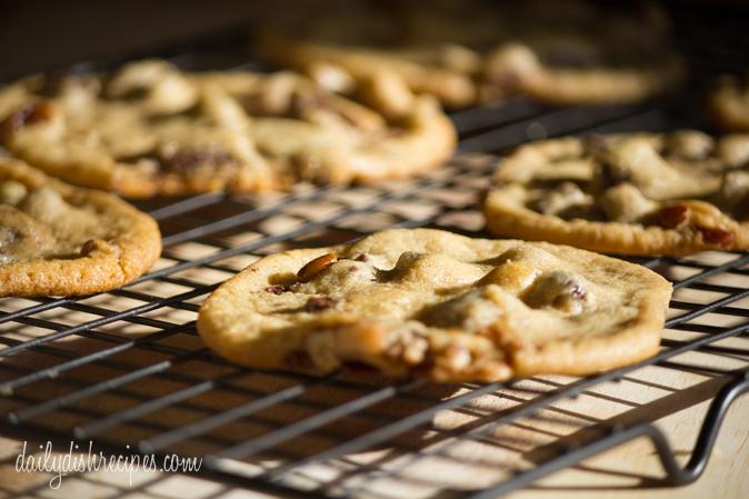 Chocolate Chip Spiced Walnut cookies