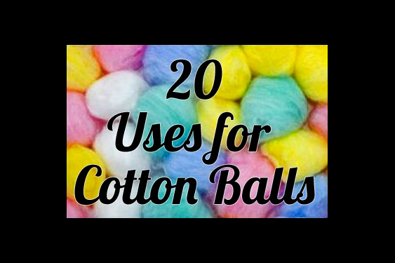 uses for cotton balls