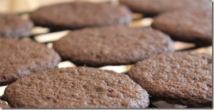 Simple Chocolate Sugar Cookies