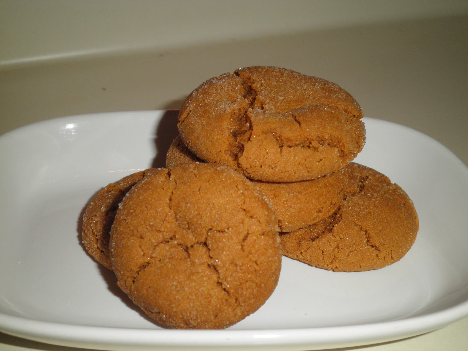 Lumberjack Molasses Cookies