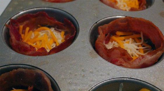 bacon egg muffin breakfast cups