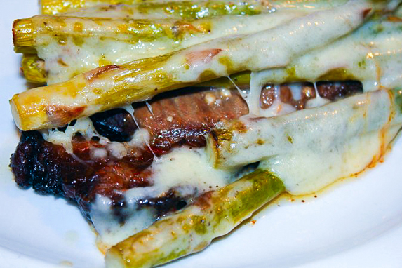 Xavier Steak Recipes Asparagus Swiss Cheese