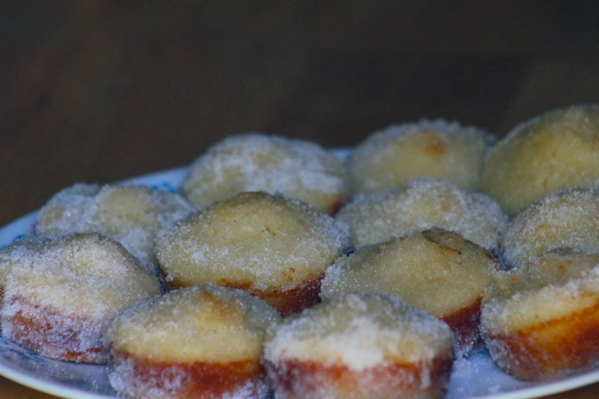 sugar donut muffins recipe