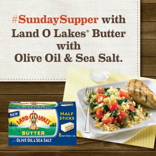 LAND O LAKES® Butter with Olive Oil & Sea Salt