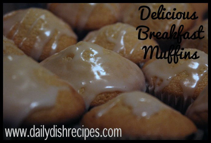 delicious breakfast muffins