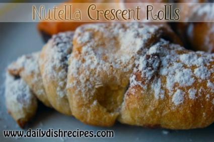 Top Recipes - Nutella Crescent Rolls