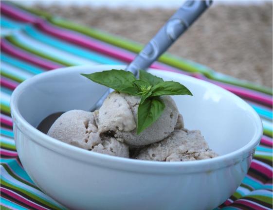 Roasted Banana & Coconut Ice Cream