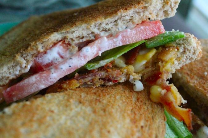 Ranch BLT sandwich