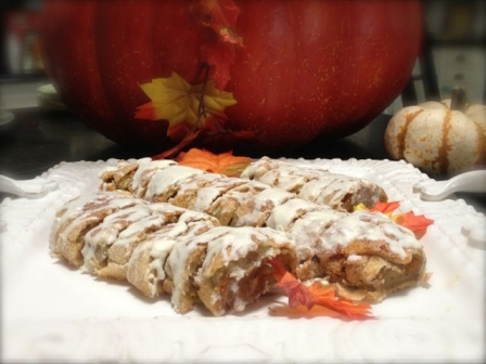 Halloween Recipes: Pumpkin Pie Pinwheels