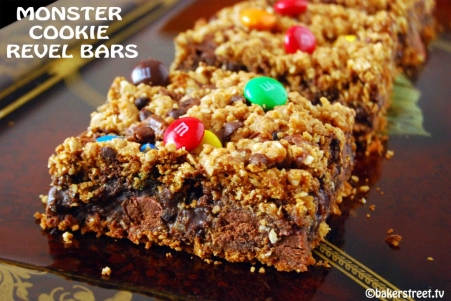 Halloween Recipes: Monster Cookie Revel Bars