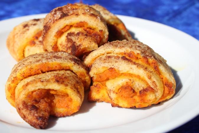 Top Recipes for October: Pumpkin Pie Roll Ups