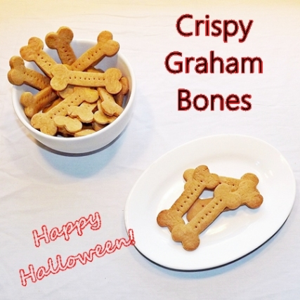 Halloween Recipes: Crispy Graham Bones