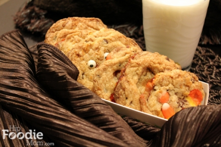 Halloween Recipes: Boo Candy Corn & Chocolate Chip Cookies