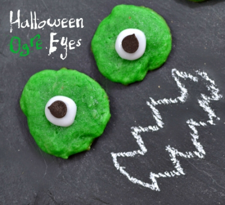 Halloween Recipes: Ogre Eye Cookies