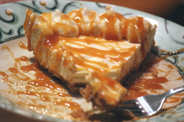 Caramel Cheesecake from the Cheesecake Factory