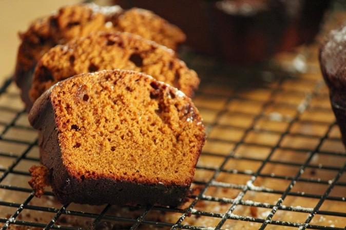 Gingerbread with Mocha Glaze