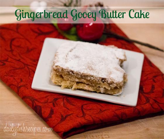 Gingerbread Gooey Butter Cake 1