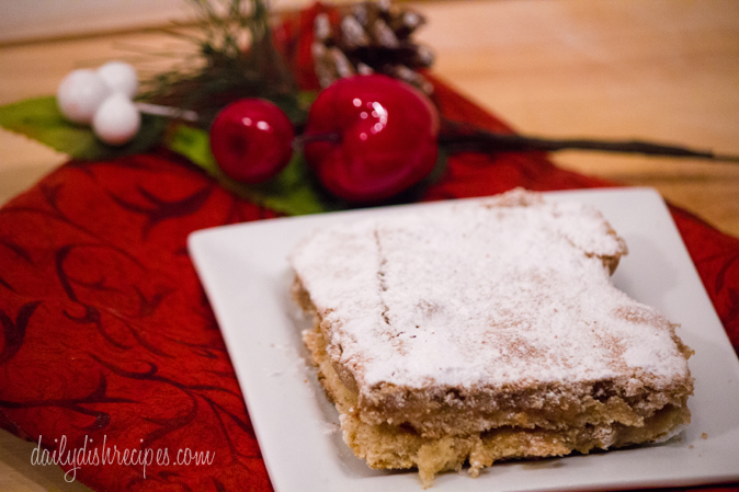 Gingerbread Gooey Butter Cake Recipe from A TASTE OF HOME: ST. LOUIS FAVORITES #WUHomeCooked #Paid