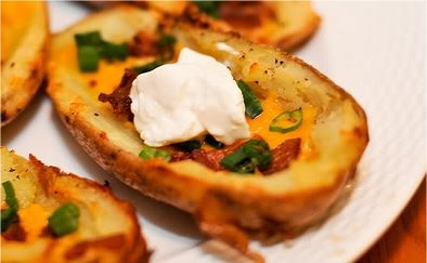 Healthy Skinny Potato Skins
