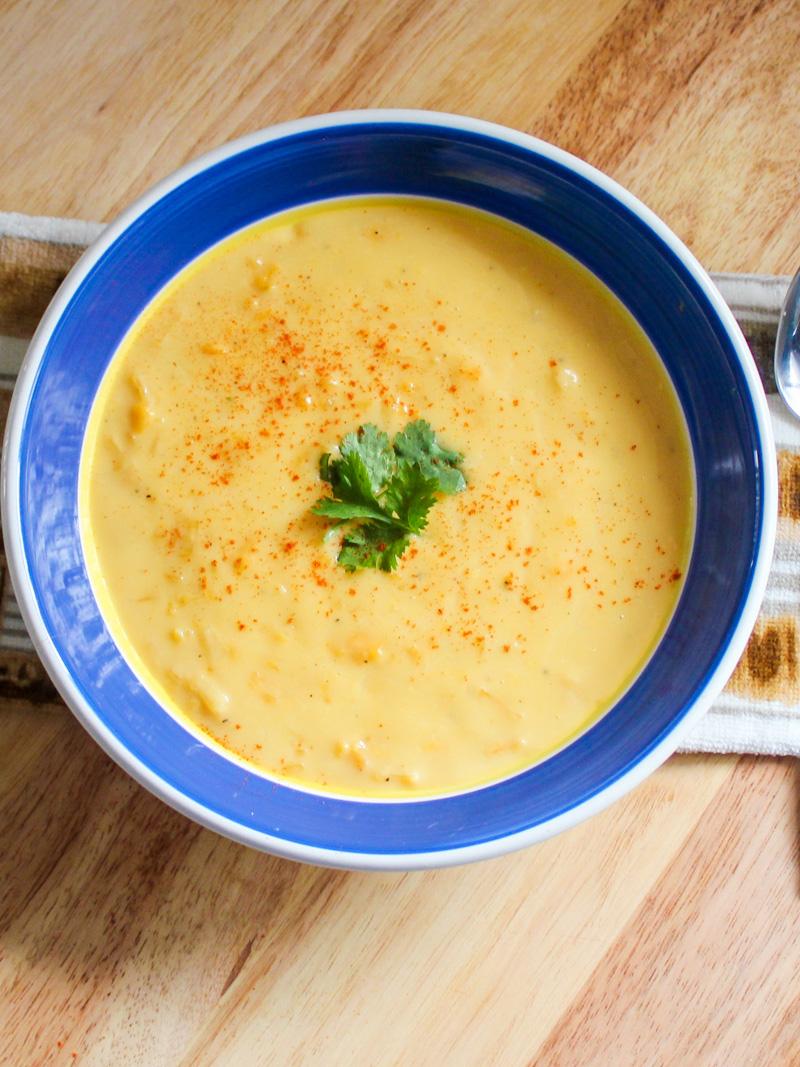 Creamy Cheddar Potato Soup 1