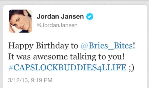 Jordans tweet