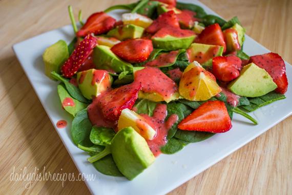 Strawberry And Avocado Spinach Salad Recipes — Dishmaps