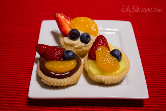 Easy Fruit Tarts 1