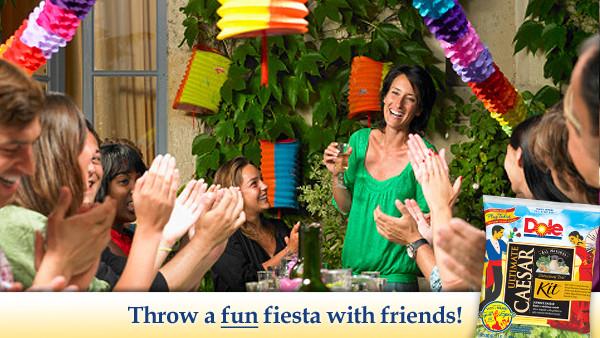 Dole TOS House Party -- FUN Fiesta