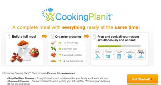 CookingPlanit Website