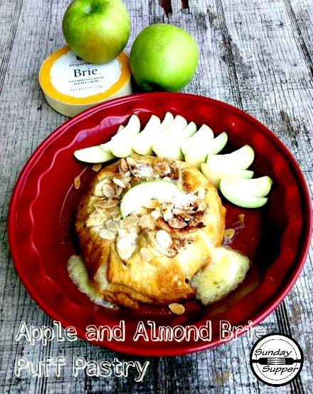 Almond-and-Apple-Brie-Puff-Pastry