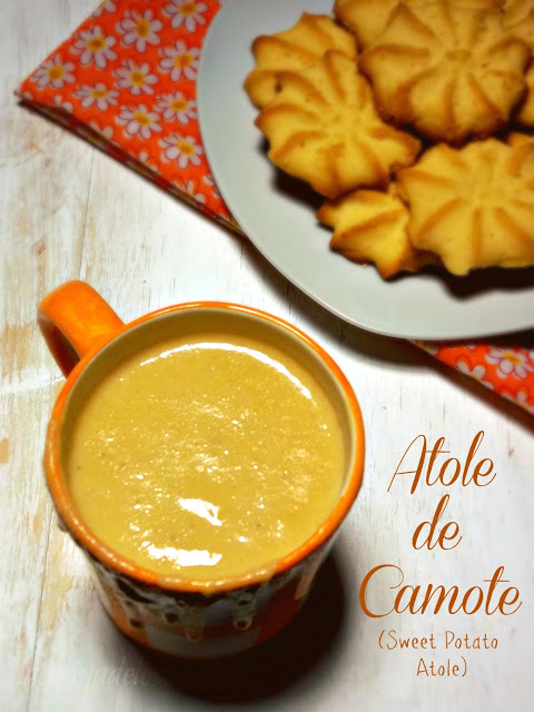 Atole de Camote Sweet Potato Atole