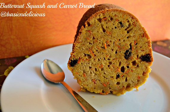 Butternut Squash and Carrot Bread