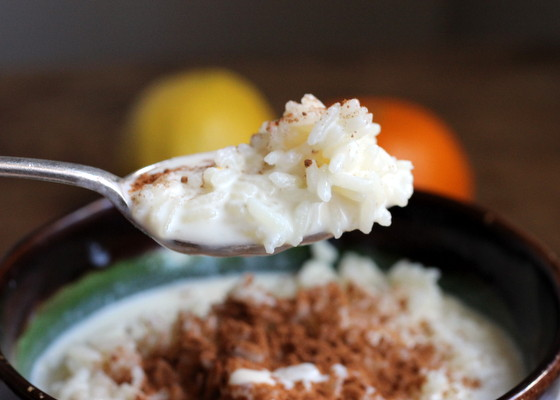 Cinnamon Rice Pudding