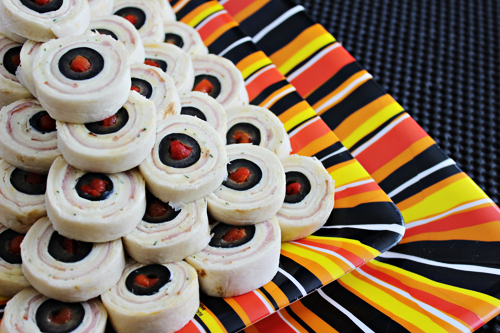 Eyeball Pinwheels Halloween