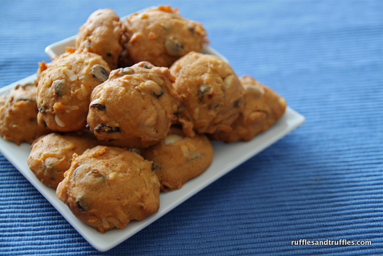 Pumpkin Harvest Cookies