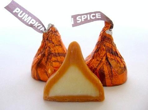 Hershey's Pumpkin Kisses