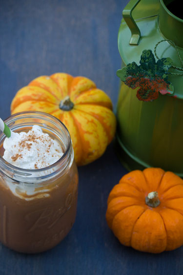 Pumpkin Pie Coffee Milkshakes