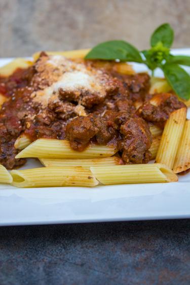 Spicy Venison Pasta 2