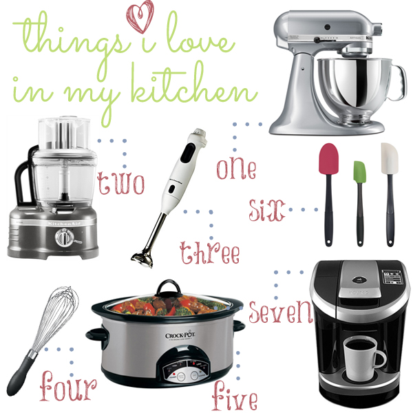 Kitchen Things I Love