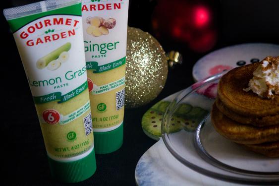 Lemon Grass Ginger Pancakes #SundaySupper #GGHoliday2013