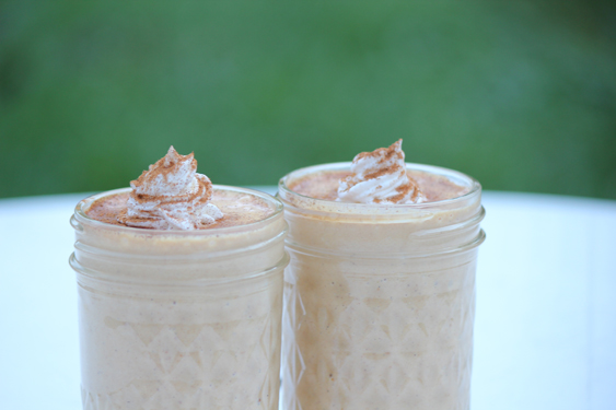 Gingerbread Milkshakes