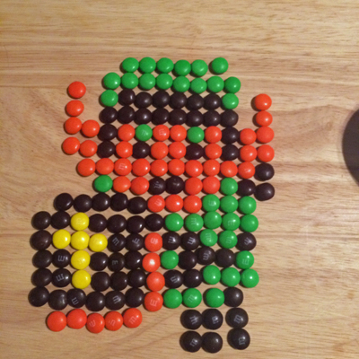 link Fun Pixel Art Video Game #contest with M&Ms & Xbox One #FueledbyMM #cbias #shop