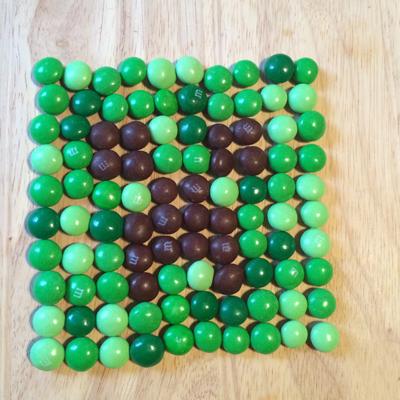 minecraft Fun Pixel Art Video Game #contest with M&Ms & Xbox One #FueledbyMM #cbias #shop