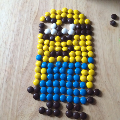 minion Fun Pixel Art Video Game #contest with M&Ms & Xbox One #FueledbyMM #cbias #shop
