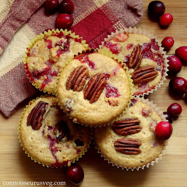 Quinoa-Cranberry-Muffins