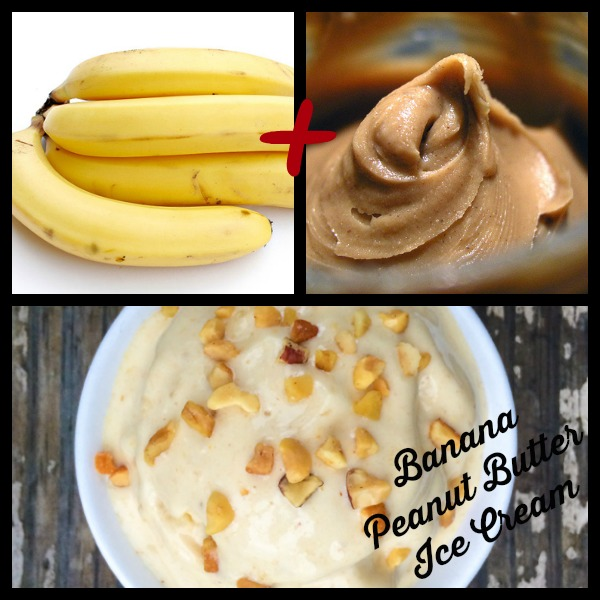 Two Ingredient Banana Peanut Butter Ice Cream Main