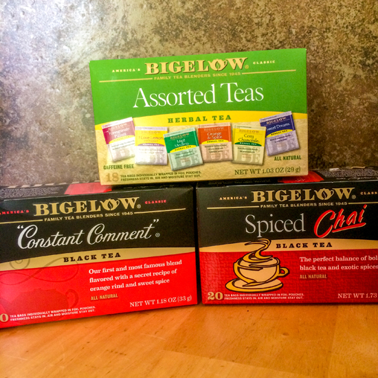 Bigelow Tea Boxes #shop #AmericasTea