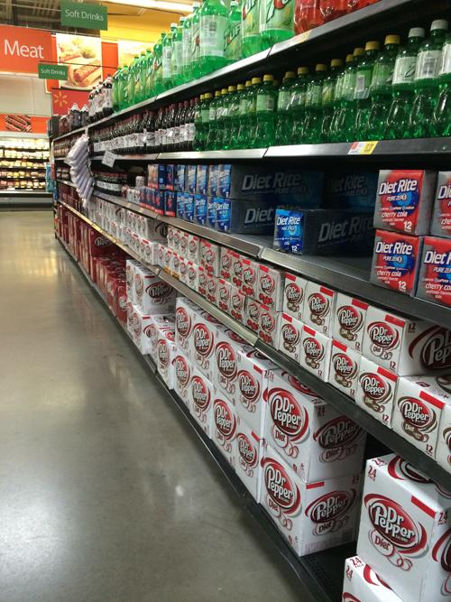 Walmart Soda Aisle