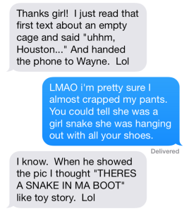 snake text 4